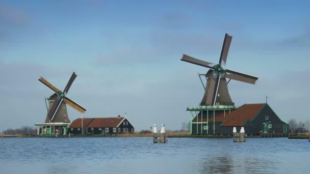 Dřevěné mlýny v Holandsku