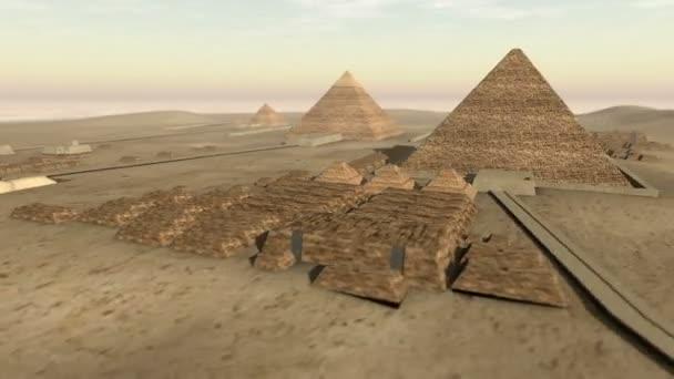 Animation of Giza platform Egypt