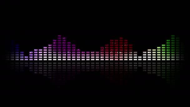 Dynamická hudba Vu metry a vlny, smyčka možnost 4k