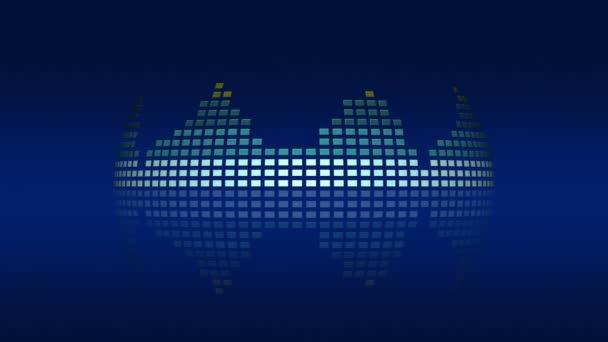 Dynamická hudba Vu metry, smyčka možnost 4k