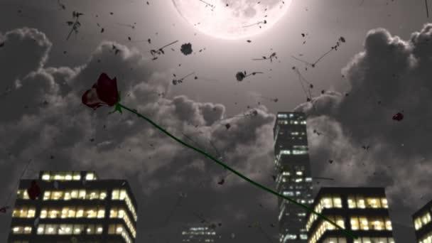 Růže padají z oblohy