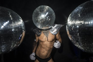 Mr discoball superhero