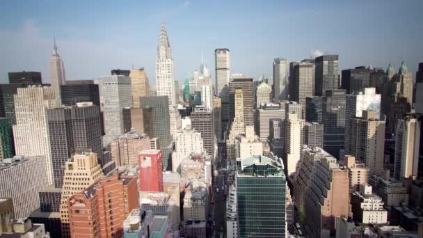 New York obzorem rychle vpřed a vzad