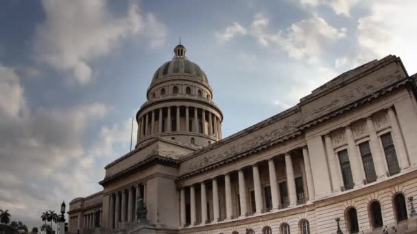 Loopable timelapse of the capitolio building in Havana cuba