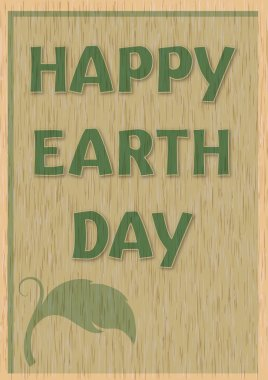 design poster for Earth Day.