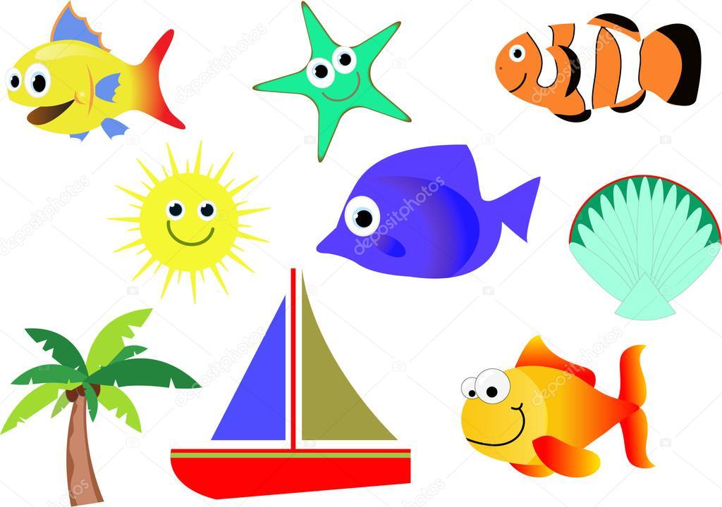 Meeresbewohner — Stockfoto © jamesstar #53602449