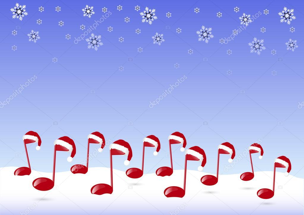 Christmas Music Background.Christmas Music Background Stock Photo C Jamesstar 53666465