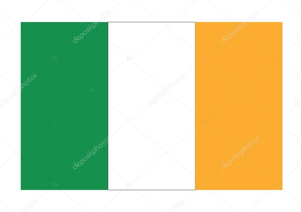 ierse vlag — stockfoto © jamesstar #83767600