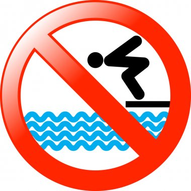 against, background, ban, banner, beach, board, button, caution, cutout, danger, dangerous, deep, dive, diving, forbidden, hazard, icon, illustration, image, information, isolated, isolation, label, lake, no, not, pool, red, restricted, river, road,
