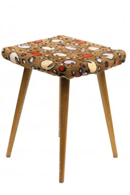 stool on the white background