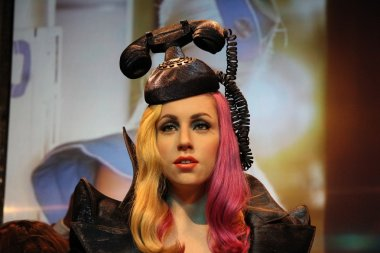 Lady Gaga wax statue
