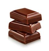 Fotografie Čokoládové figurky, vektorové ilustrace