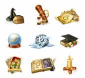 Fényképek Asztrológia ikonok beállítása