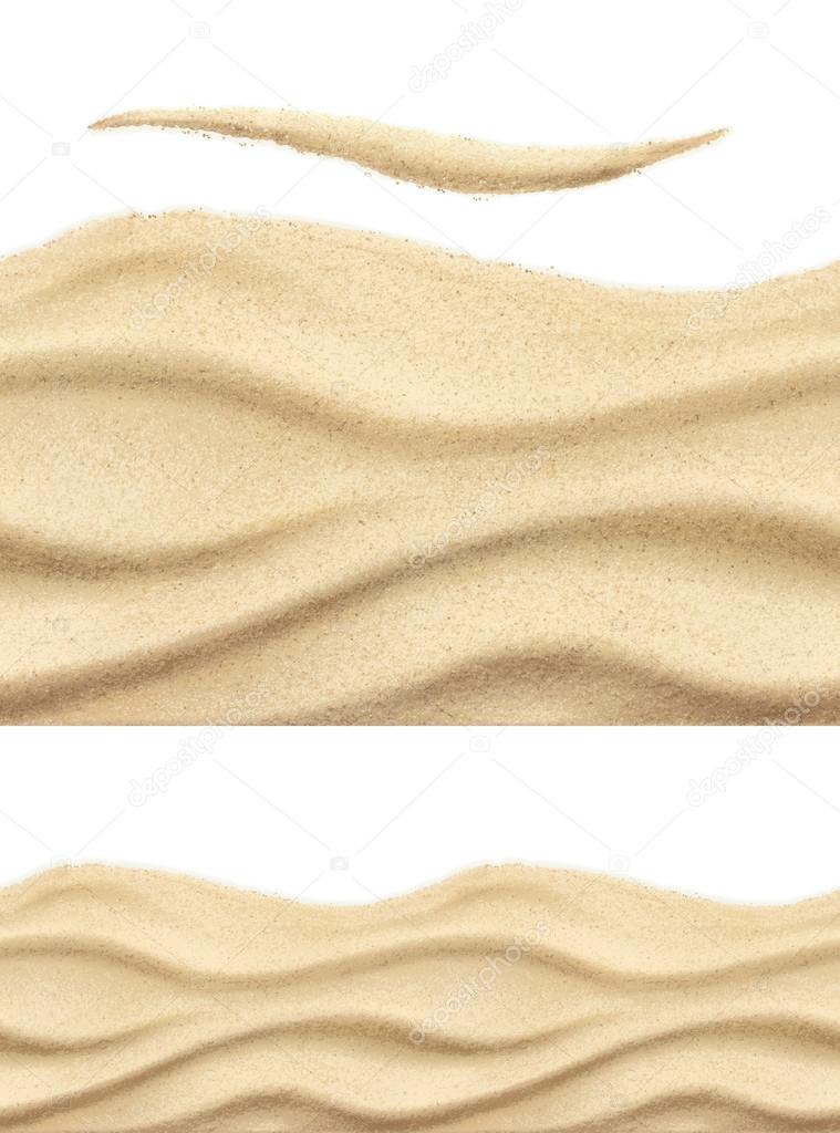 Sea sand, seamless patterns