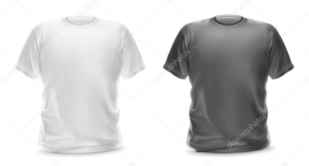 Áˆ Gray T Shirt Template Stock Vectors Royalty Free Gray T Shirt Illustrations Download On Depositphotos