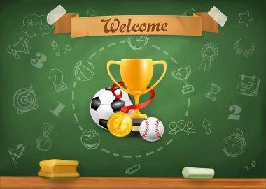 School sports,   background