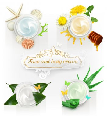 Cream concepts, set