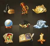 Fényképek Asztrológia, készlet-ból ikonok