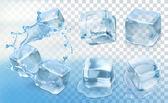 Photo Ice cubes,   set