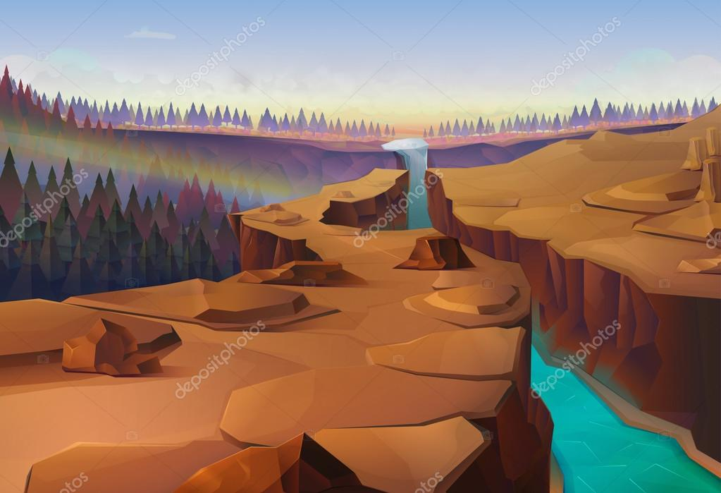 Canyon, nature   background