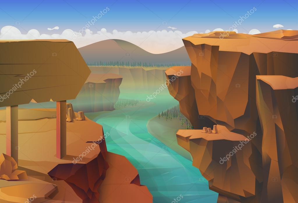 Canyon, nature   background