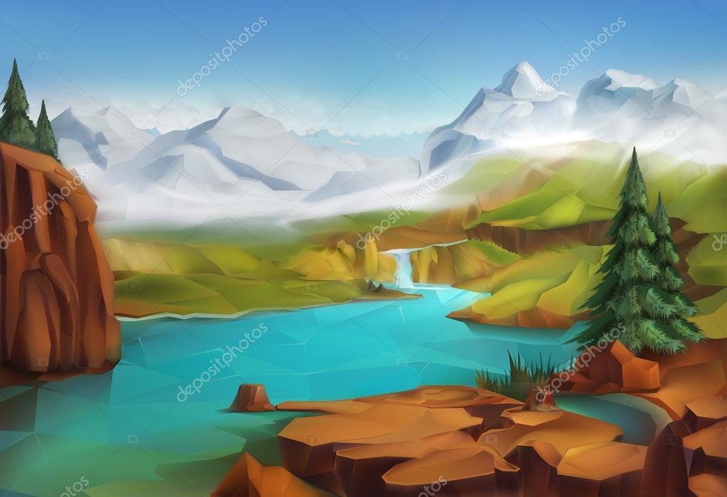 Landscape, nature   background