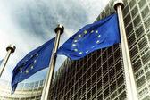 Vlajky EU Evropská Komise budovy