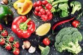 čerstvá bio zelenina a byliny