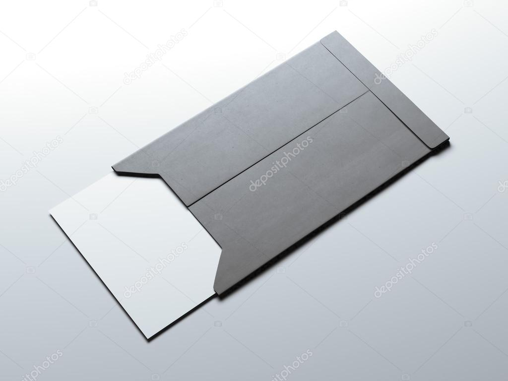 White business card in small envelope 3d rendering stock photo white business card in small envelope 3d rendering stock photo colourmoves