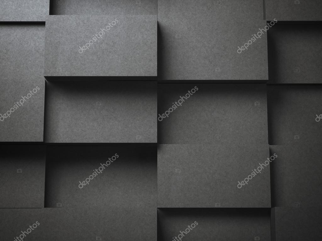 Verschiedene Stapel Von Schwarz Blanko Visitenkarten