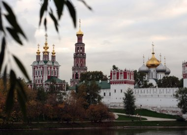A view to Novodevichy convent