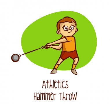 Summer Olympic Games. Sport. Athletics. Hammer Throw