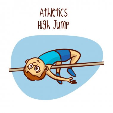 Summer Olympic Games. Sport. Athletics. High Jump