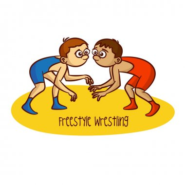 Summer Olympic Games. Sport. Freestyle Wrestling