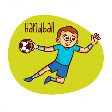 Summer Olympic Games. Sport. Handball