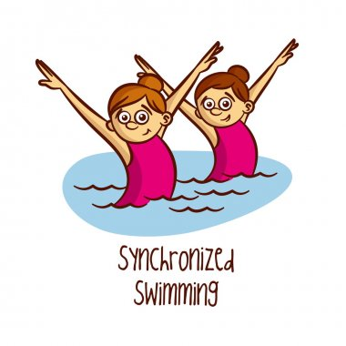 Summer Olympic Games. Sport. Synchronized Swimming