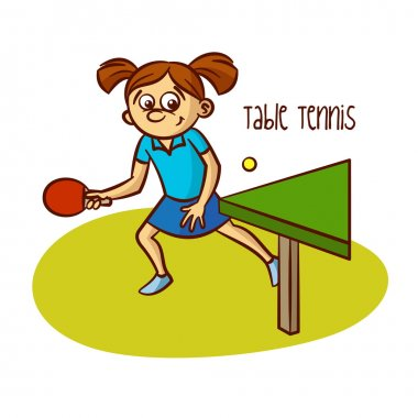 Summer Olympic Games. Sport. Table Tennis