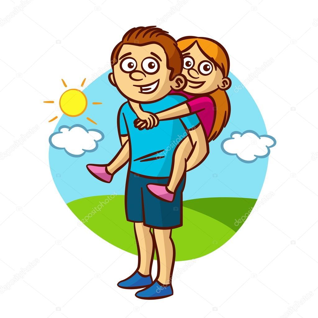 pap u00e1 e hija caminando archivo im u00e1genes vectoriales father and daughter clipart images father and daughter clipart images