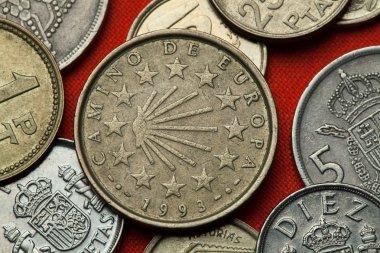 Coins of Spain. Camino de Santiago
