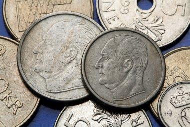 King Olav V on Coins of Norway