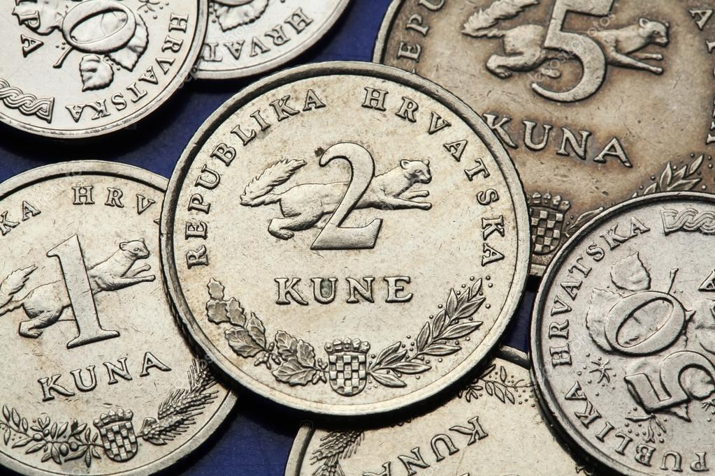 Münzen Von Kroatien Stockfoto Wrangel 54962397