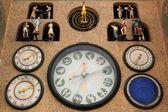 Fotografie středověké astronomické hodiny