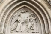 Fotografie Reliéf Zvěstování Gothic