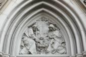 Fotografie Betlém gotický reliéf