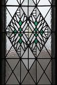 Fotografie Art Nouveau mozaikové okno v Hradci Králové