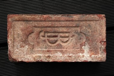 Old brick produced in the Austro-Hungarian Empire