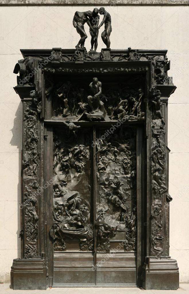 H llentor von auguste rodin redaktionelles stockfoto wrangel 78396622 - La porte de l enfer rodin ...