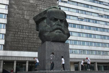 Karl Marx Monument in Nietzsche