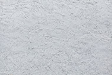 White stucco wall.