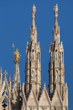 Milan Cathedral in Milan, Lombardy, Italy.